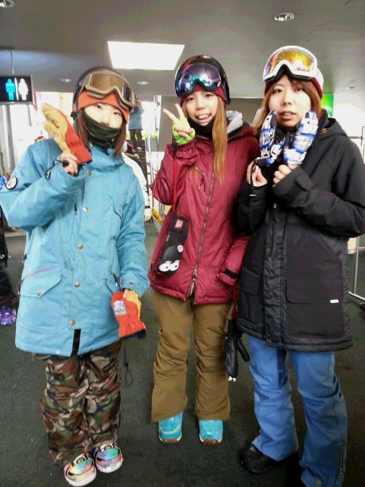 栃木・茨城県から遊びにきた仲良し3人組!