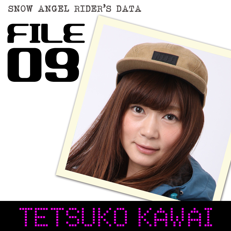 SNOW ANGEL RIDER'S DATA 河合徹子